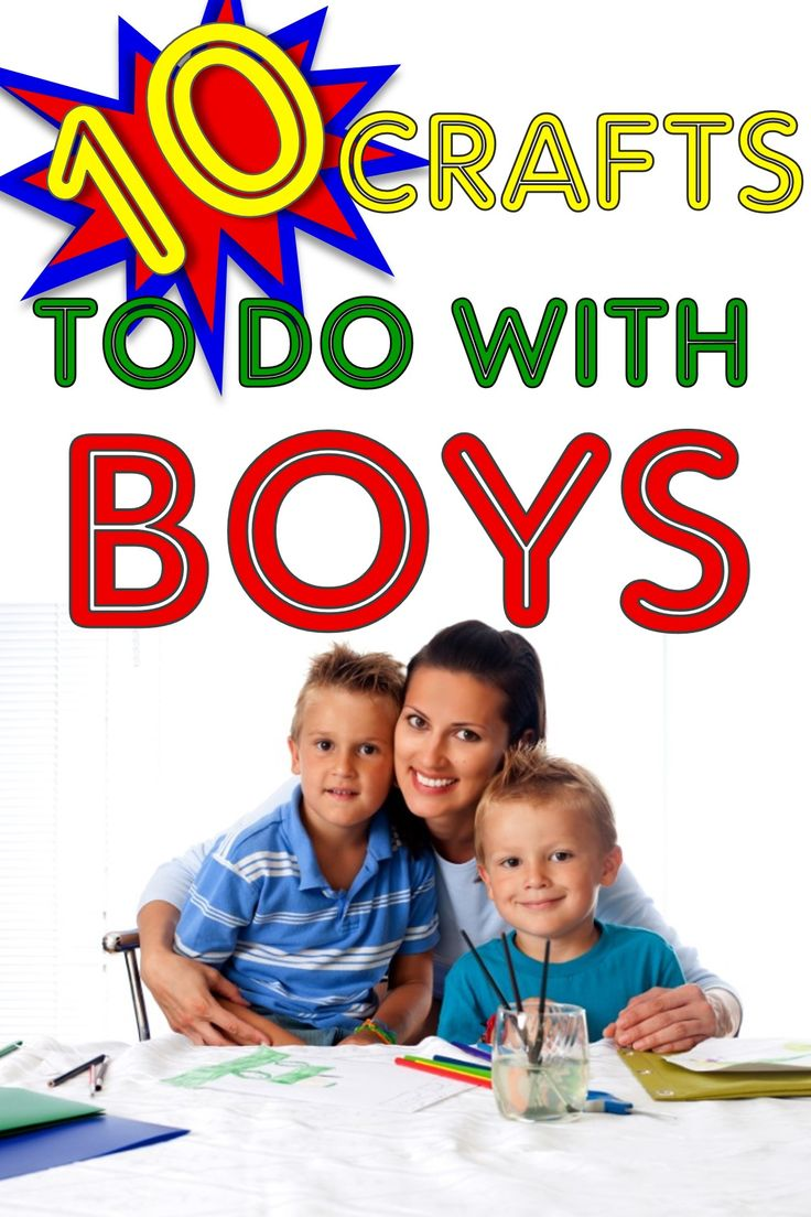10 Cute Craft Projects for Boys