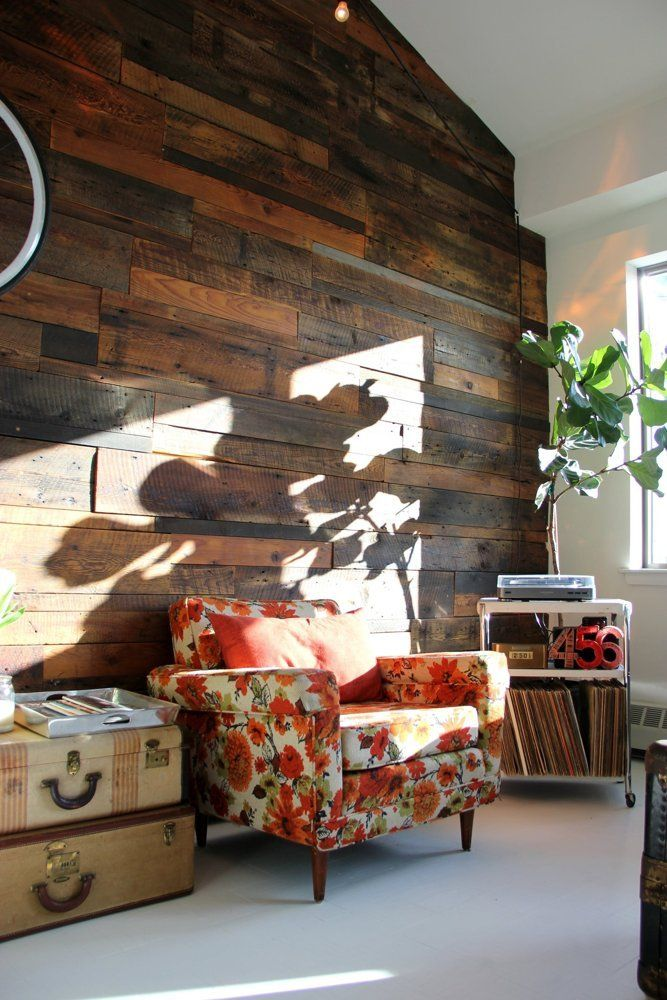 Wood for the walls Jove's Bright Home with Inventive Features — House Tour | Apartment Therapy