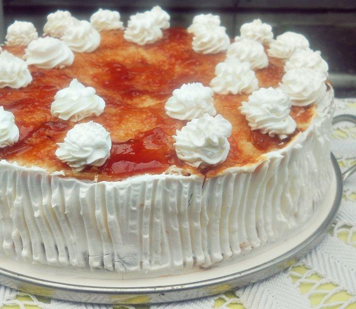 Reteta culinara Tort Savarina din categoria Torturi. Cum sa faci Tort Savarina