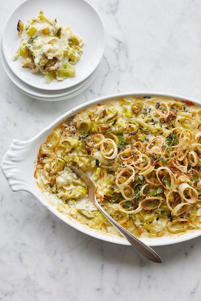 Cheesy Leek Gratin Recipe | Williams Sonoma Taste