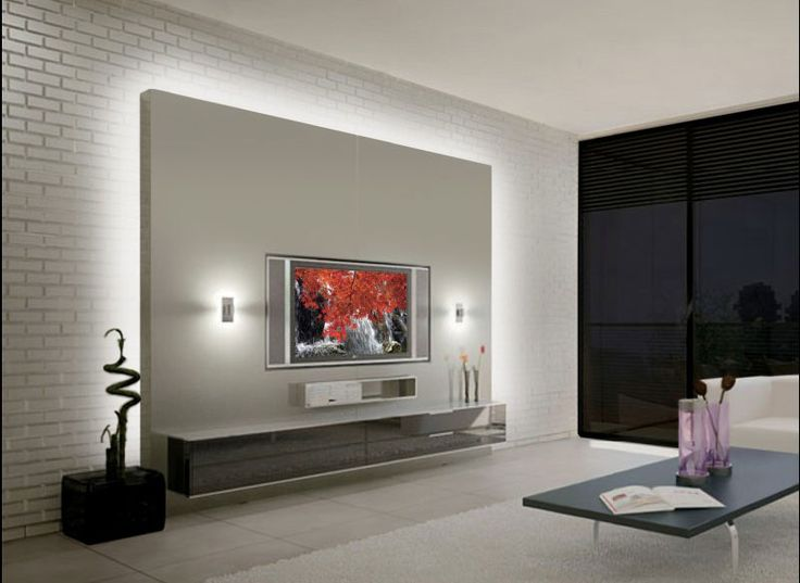 find this pin and more on tv kuschelecke - Modern Tv Wall Design