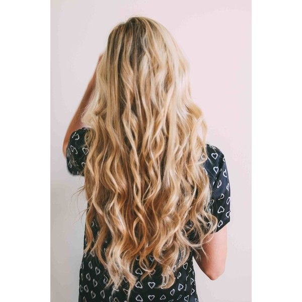 The Straightener Curl Barefoot Blonde by Amber Fillerup Clark featuring polyvore beauty products haircare hair styling tools hair hairstyles hair styles straightening iron styling iron flat iron straight iron