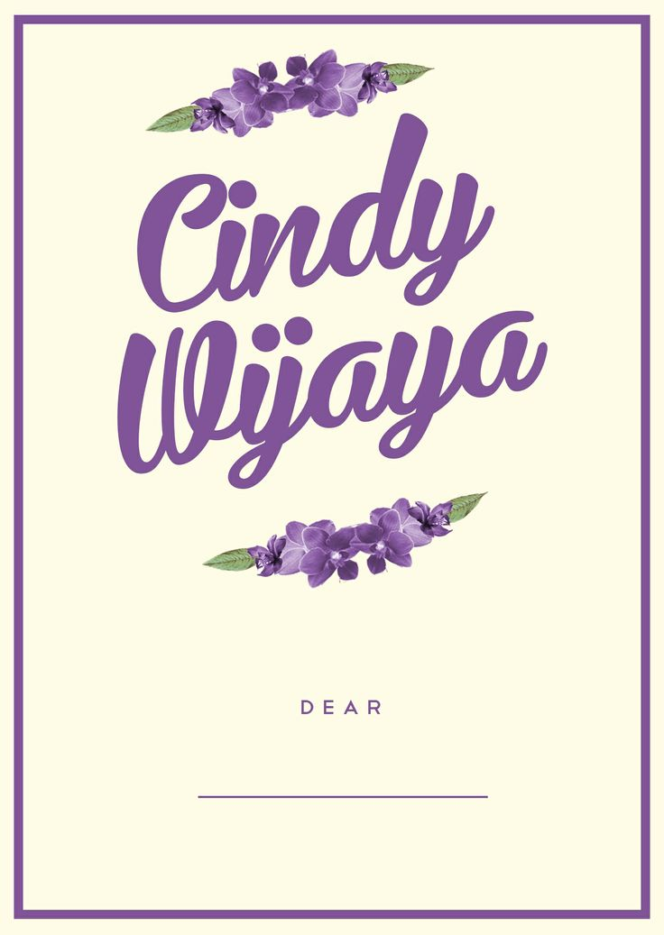 cindy wijaya's invitay