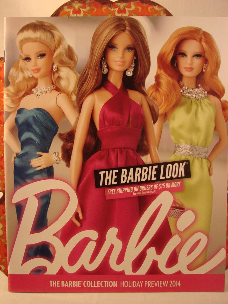 The Barbie Collection Holiday Preview 2014 The Barbie Look Catalog | eBay
