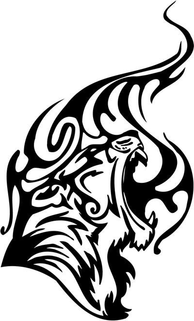 tribal tiger paw tattoo - Google Search