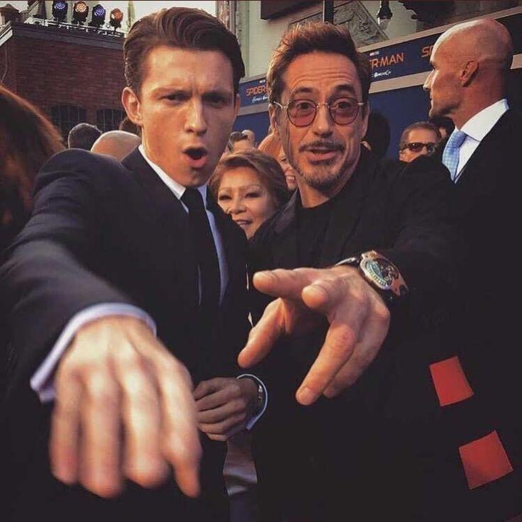 Tony & Peter _ like father like son