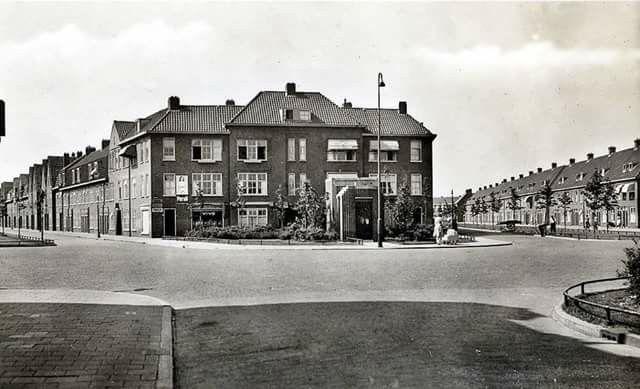 Borneoplein Javalaan Sumatralaan Groningen 1930