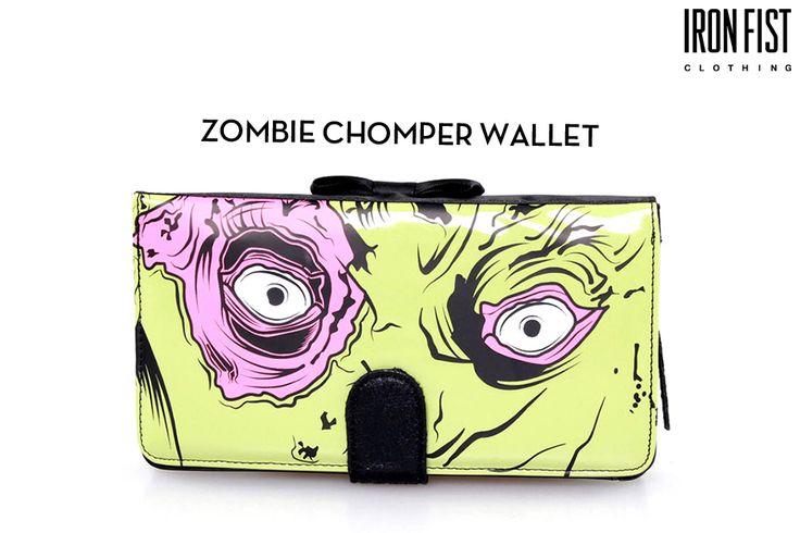 아이언피스트 ZOMBIE CHOMPER WALLET http://ironfist.co.kr/shop/goods/goods_view_ladies.php?goodsno=358  #ironfist #아이언피스트 #악세사리 #여자지갑 #패션지갑