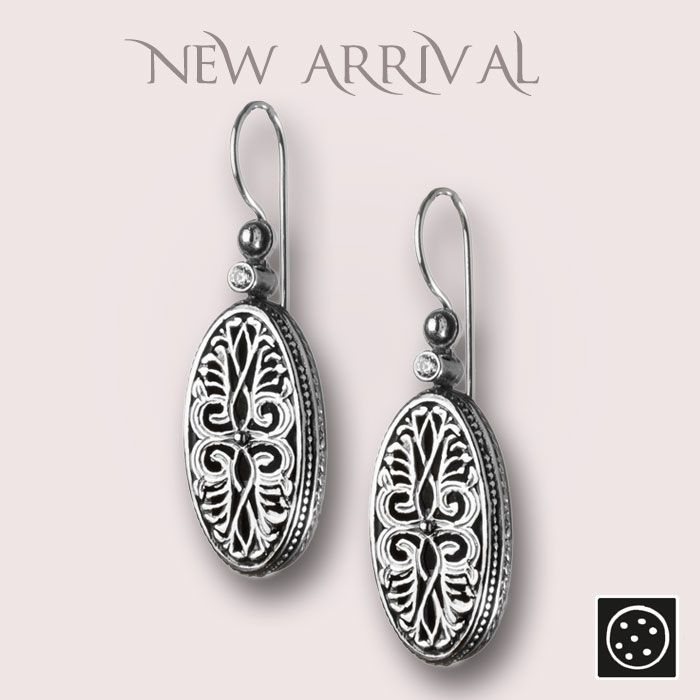 A new pair of sterling silver drop earrings. Check out the link for more details and join our newsletter to get your exclusive discount.