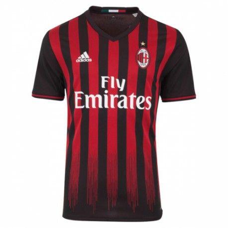 Camiseta Nueva del AC Milan Home 2017