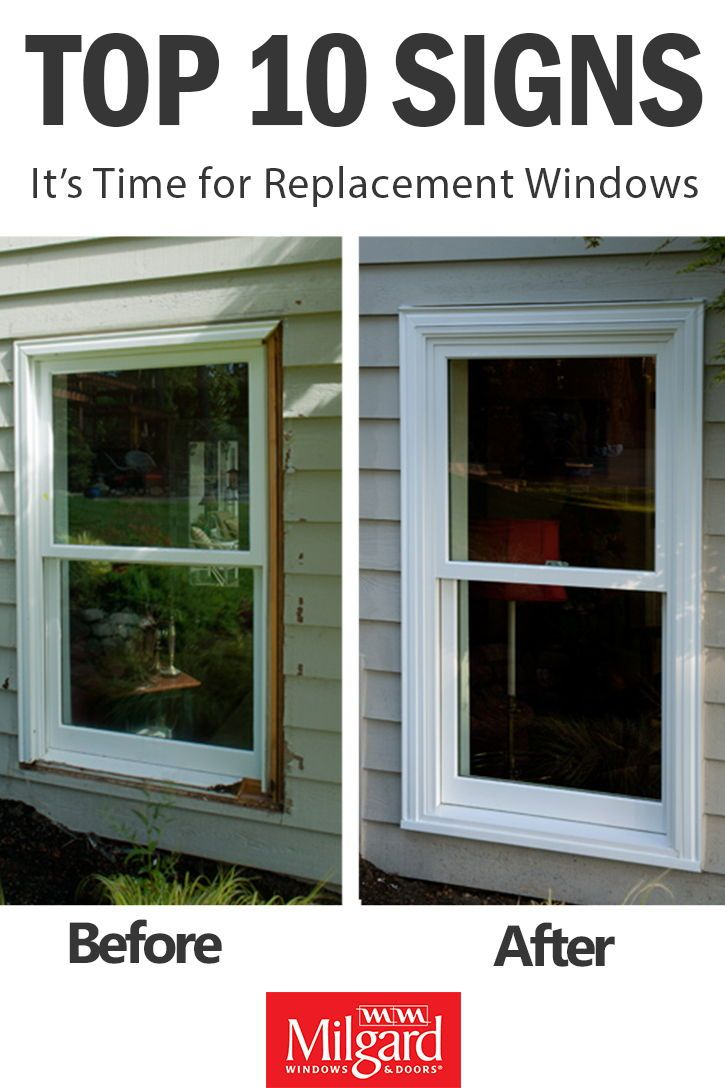 Top 10 Signs It S Time For Replacement Windows We Dive Into The Details Of When Your Old Windows Need To Be R Windows Windows And Patio Doors Milgard Windows