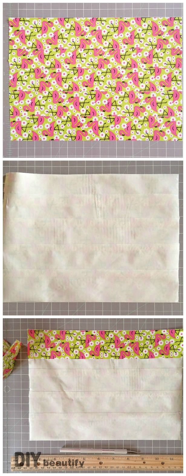 Creating a duct tape double-sided sheet for wallet | DIY beautify