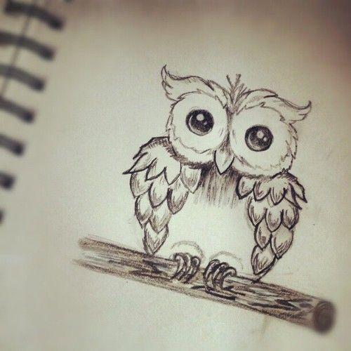 Cute Drawings Tumblr | Cute Drawing Ideas Tumblr 12 notes. #owl #tattoo #cute