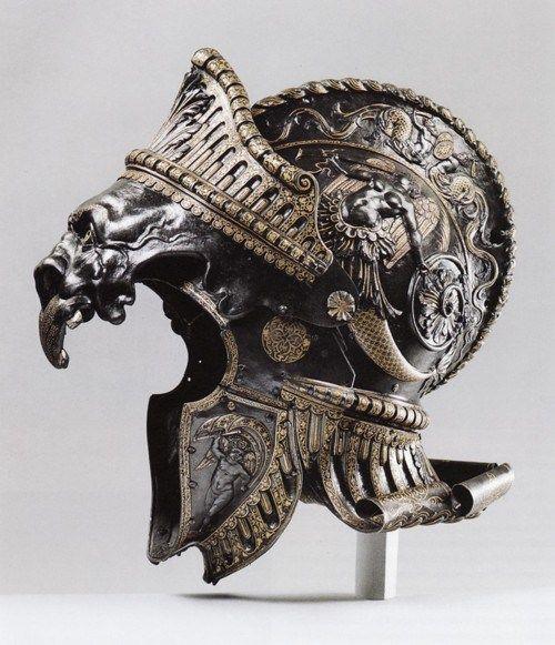 LOVE IT : ancient helmets, armor, greek fashion, helmet, military helmets, roman fashion, warrior helmets
