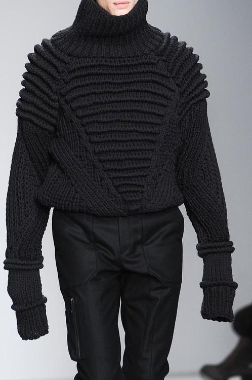 detailed knitwear