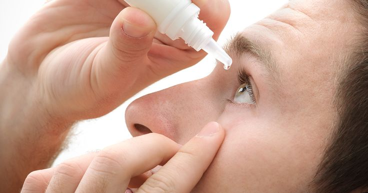 How to use eye drops and get them in your eyes, and not all over your face!
