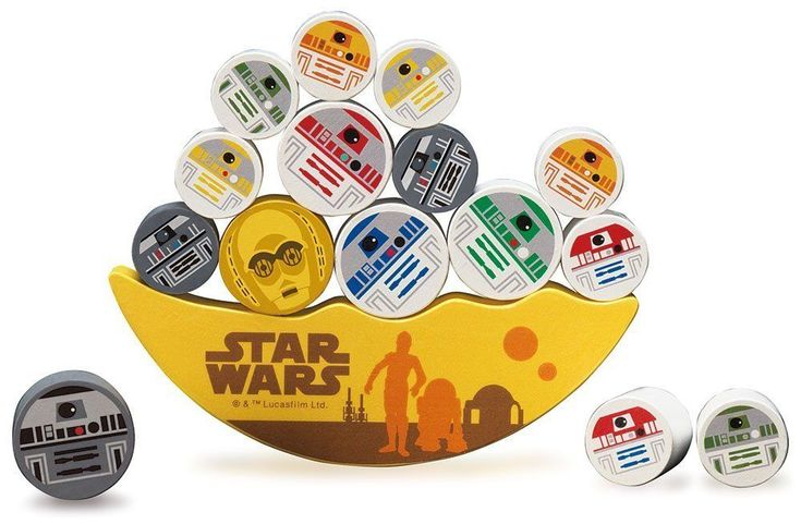 YANOMAN Balance Puzzle Star Wars Droid Stacking Toy Game from Japan F/S #YANOMAN