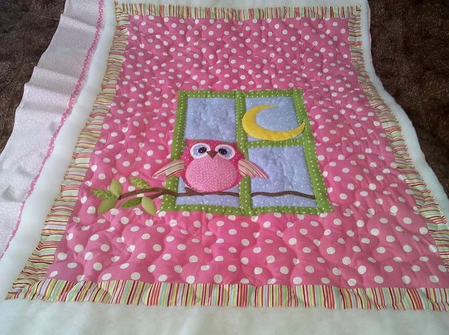 Another quilt for baby girl