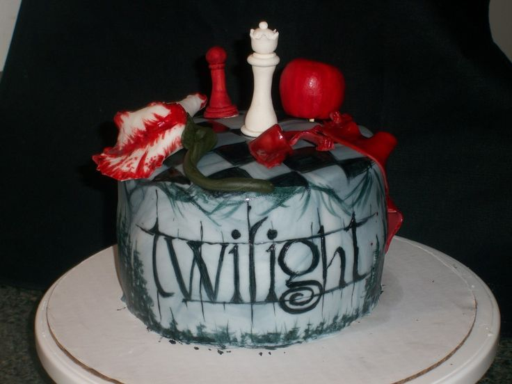twilight cake   Posted in Birthday Cake Ideas , Movies Birthday Cakes on May 30th ...