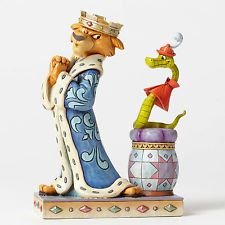 Disney Jim Shore Robin Hood Prince John & Sir Hiss Royal Pains 4050418 New 2016
