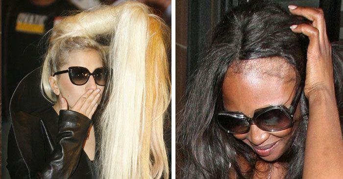Звезды, предпочитающие парики вместо натуральных волос