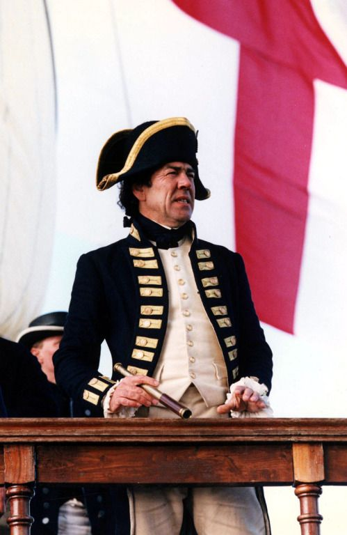 Captain (and later Commodore and Admiral) Sir Edward Pellew - Robert Lindsay in Hornblower (TV series 1998-2003).