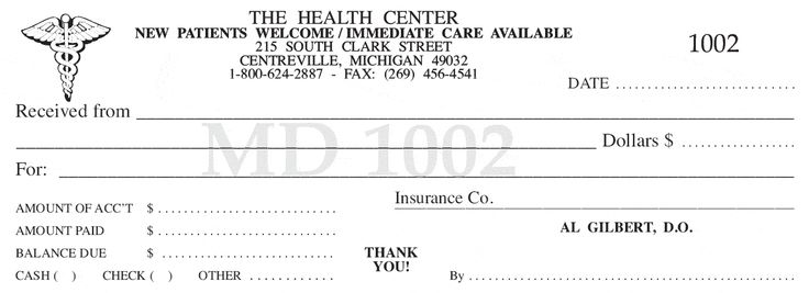 Medical Receipt Template Free Invoice Word1275 This Given - cash rent receipt