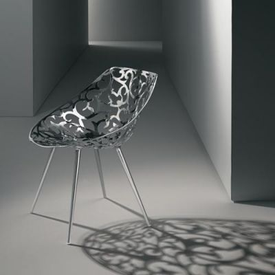 """Miss Lacy"" aluminum chaise by French designer Philippe Stark. Edition 2007"