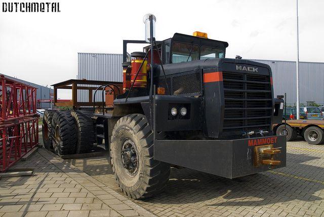 Mammoet Mack truck by dutchmetal, via Flickr