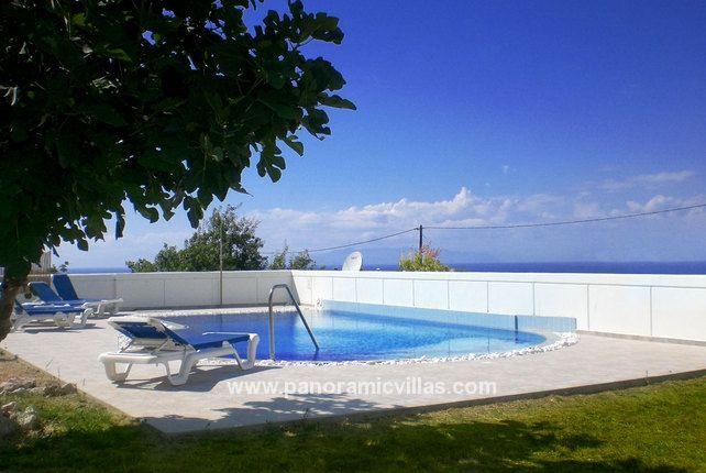 Fanes 3 Bed Villa to Rent in Rhodes, Greece - Sleeps 7