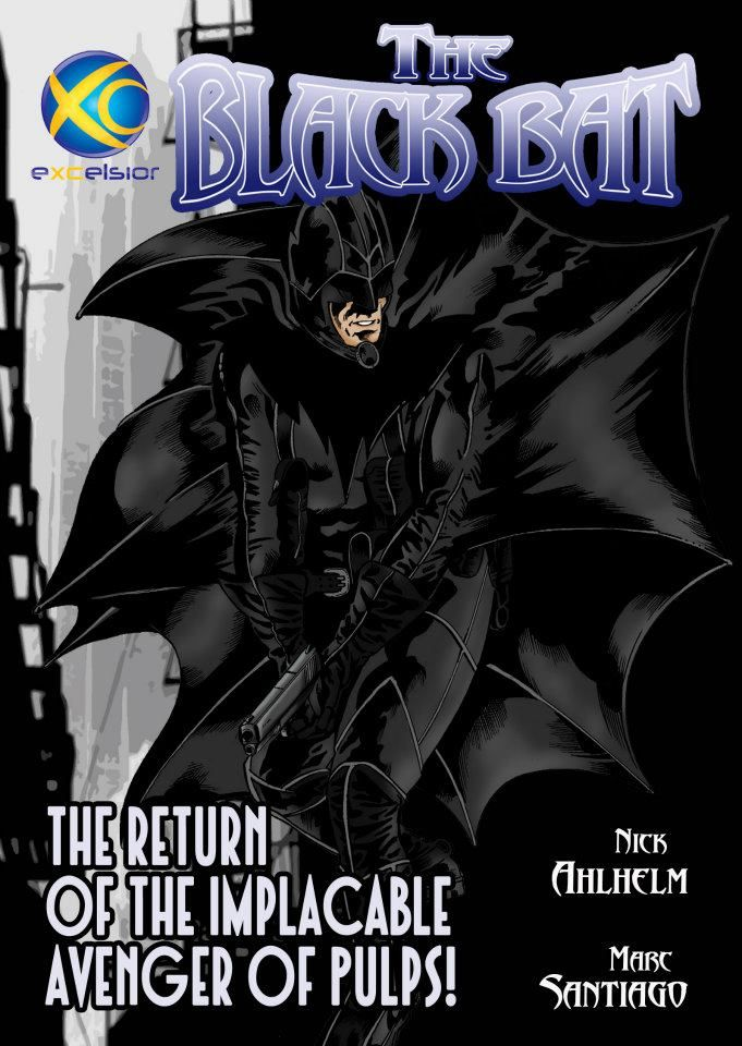 A slow-moving, perhaps aborted, webcomic project about The Black Bat.
