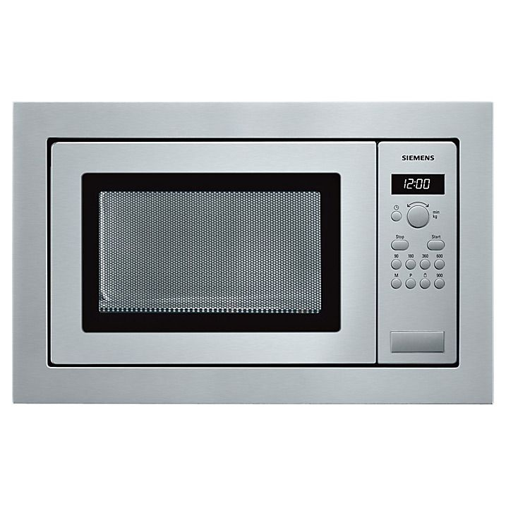 Siemens Hf24m564b Built In Compact Microwave Stainless Steel Online At Johnlewis