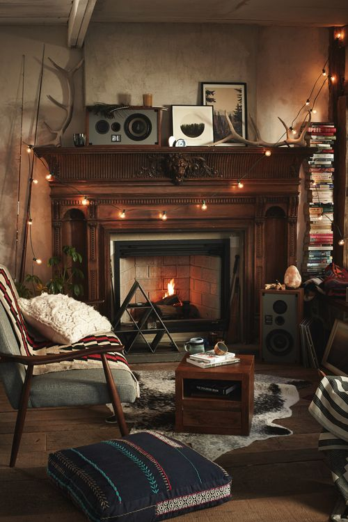 Cozy Living Room With Fireplace 158 best interior - fireplace images on pinterest | wood stoves