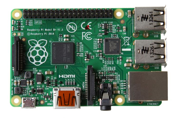 First look at the new Raspberry Pi B+ via MAKE