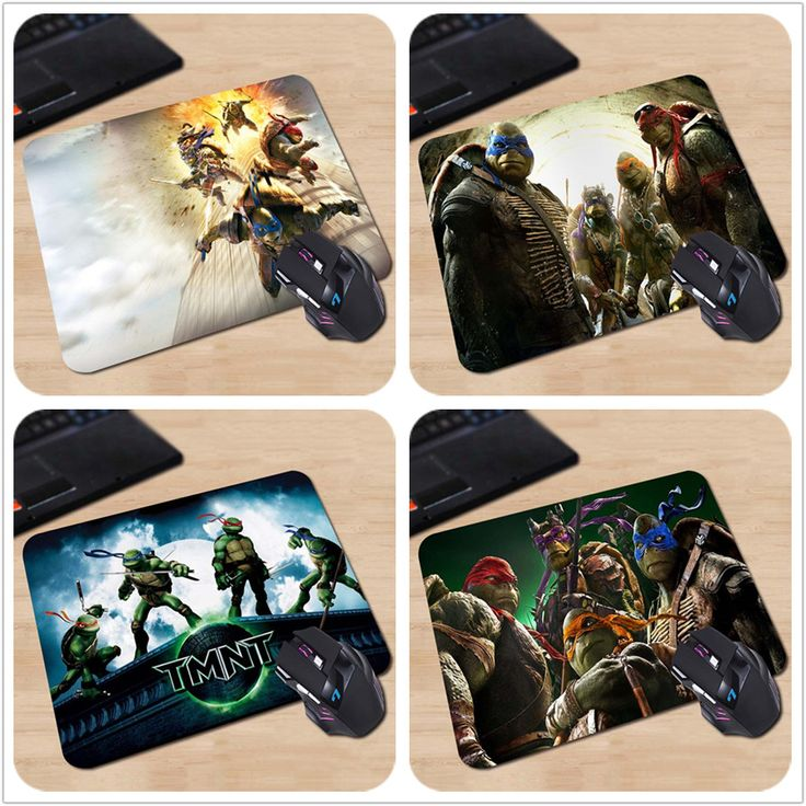 Customized Mouse Pad Teenage Mutant Ninja Turtles Action Film Best Sales Computer Notebook DurablesNon-slip Rubber Mouse Mat Pad