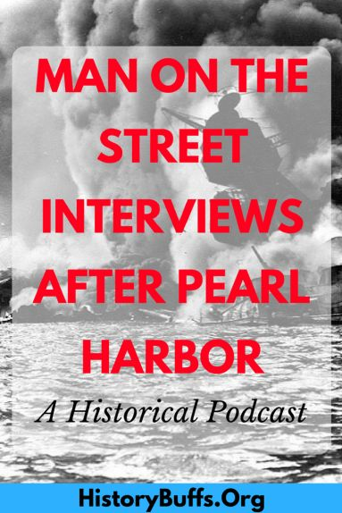 Man on the Street interviews after the bombing of Pearl Harbor #history #worldwarII #wwII #ww2