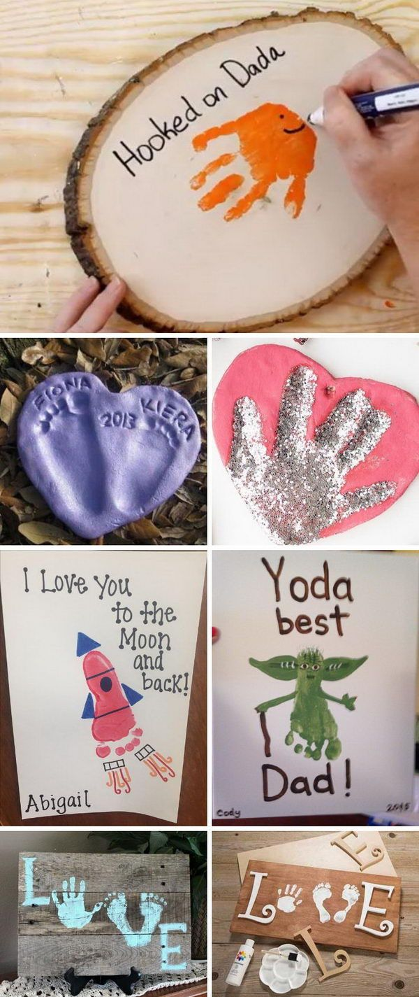 Handprint & Footprint Crafts for Your Kids to Make This Summer.