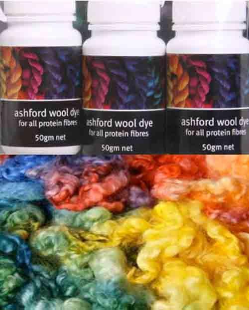 Ashford Färbeset Grundfarbe AWDRC AWDRC50 - Färbemittel - Das Wollschaf (natürlich & kreativ)