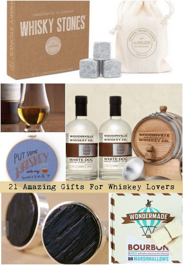 21 Amazing Gifts For All Whiskey Lovers