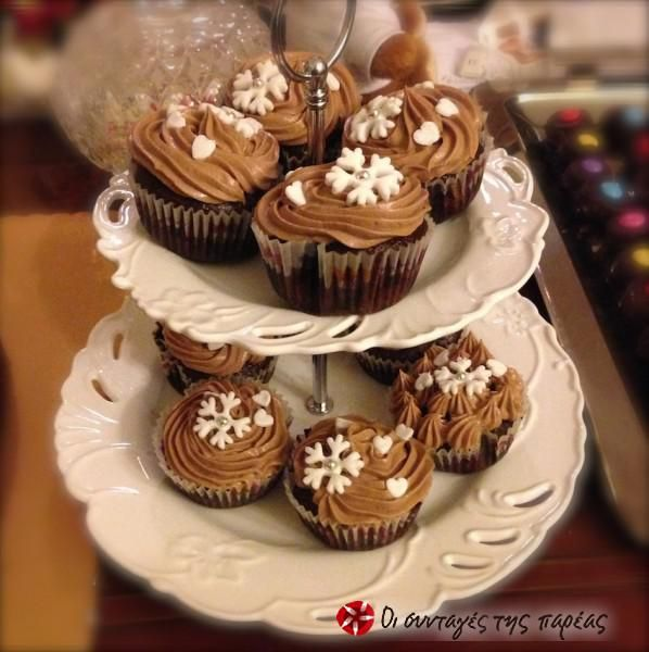Βουτυρόκρεμα Νουτέλας (Nutella Buttercream) #sintagespareas #voutirokremanutellas #nutellabuttercream