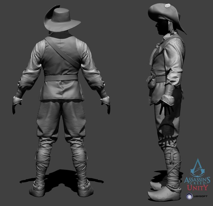 http://www.zbrushcentral.com/showthread.php?190016-Assassin-s-Creed-Unity-Characters