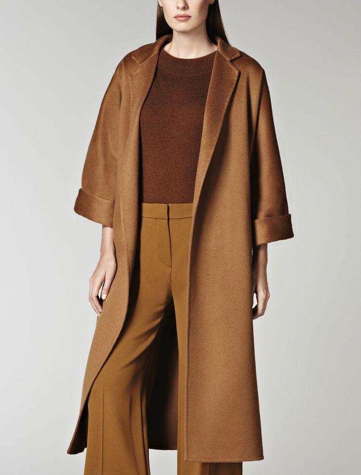 Max Mara - Pure cashmere coat with belt - £2k