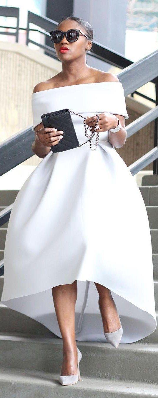 Spring White / Fashion Look by Ranti Onayemi Blanchard