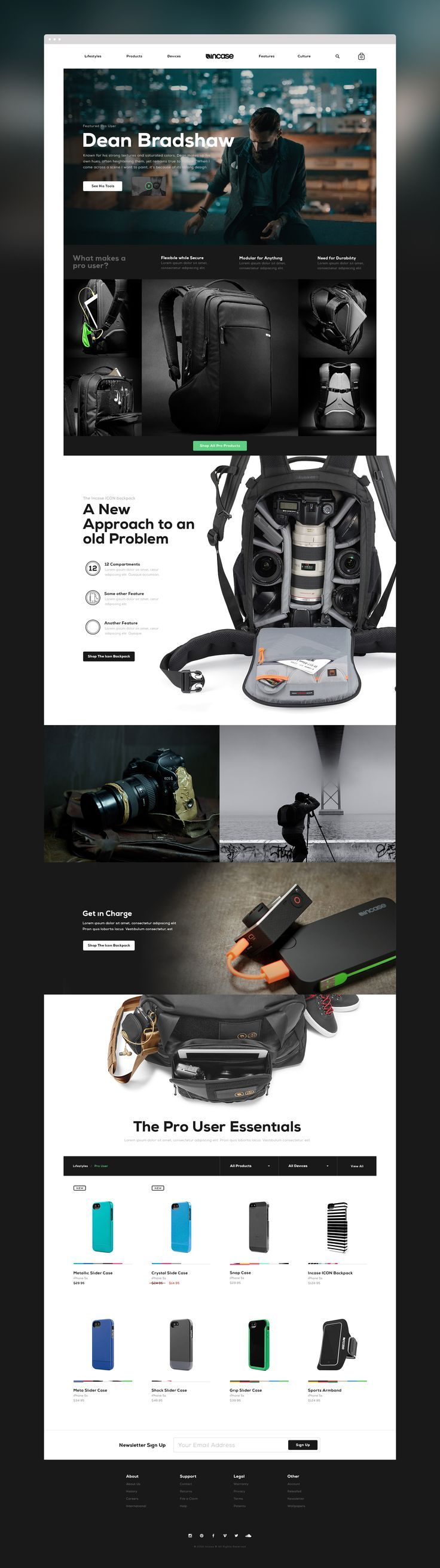 Inspirational Website UX/UI design samples. Visit us at: www.sodapopmedia.com #WebDesign #UX #UI #WebPageLayout #DigitalDesign #Web #Website #Design #Layout