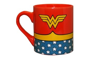 Wonder Woman DC Comics Superhero Costume Ceramic Coffee Mug $7.95 wonderwoman coffee
