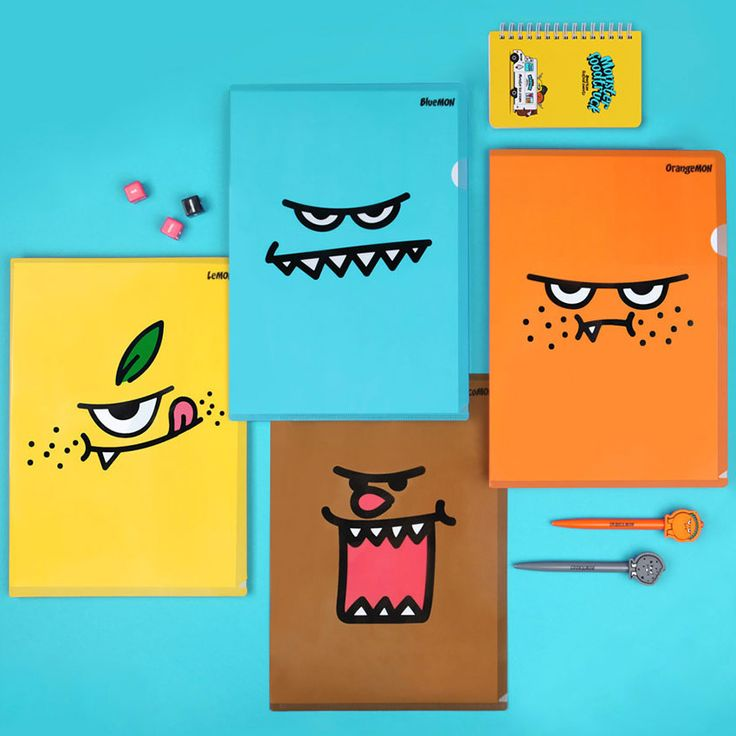 Antenna shop Monster A4 document file folder - fallindesign