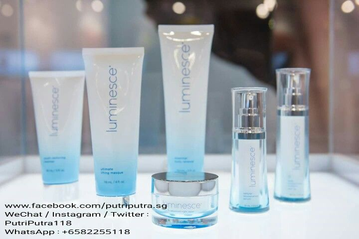 The new look of Luminesce products