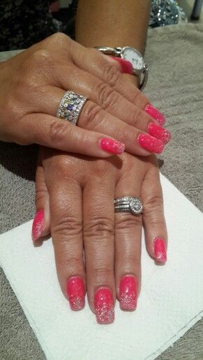 Pretty in pink...with a little bling