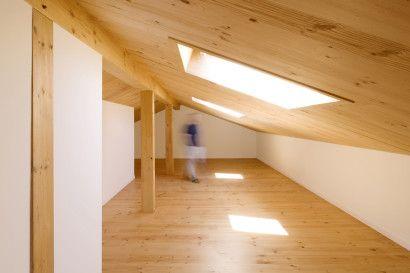 Diseño de techos inclinados con claraboyas