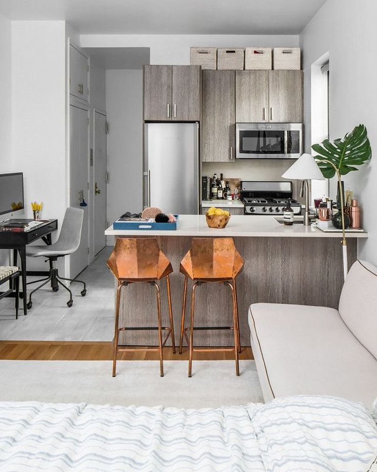 37 elegant renovation design ideas for studio apartment